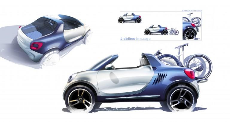 smart for-us concept puts a mega-pickup spin on the fortwo - Image 3 of 6