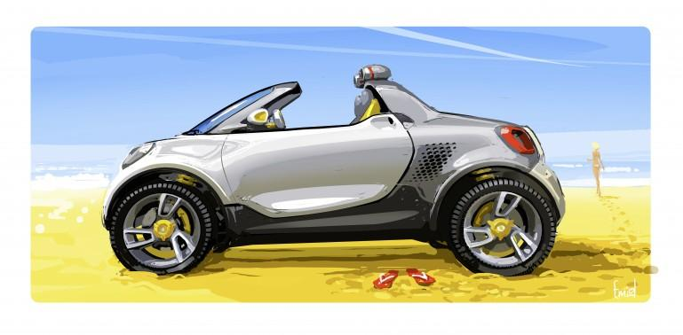 smart for-us concept puts a mega-pickup spin on the fortwo - Image 5 of 6