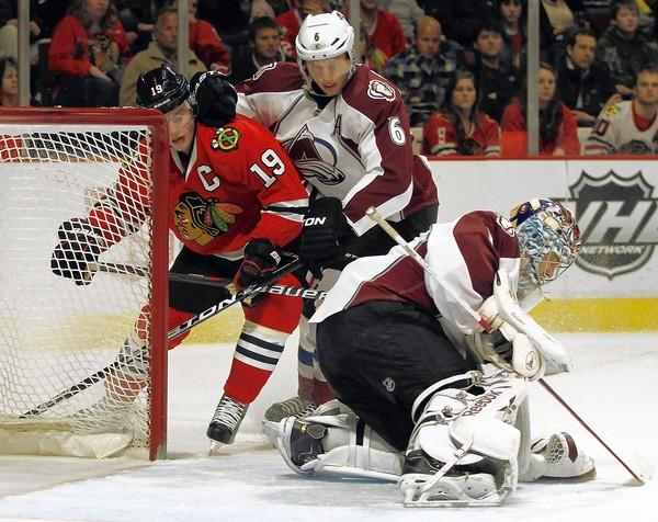 Blackhawks-Avalanche: Chicago Blackhawks offense sputters again - chicagotribune.com