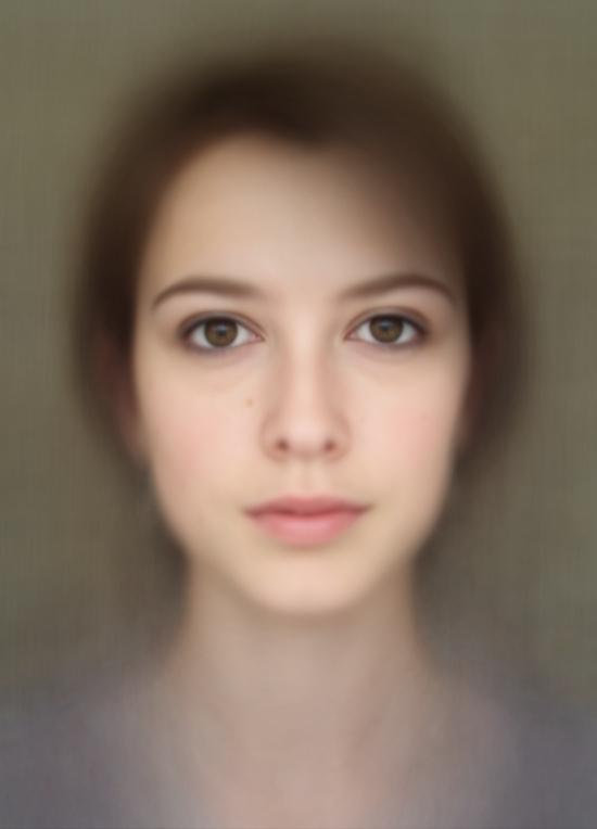 feltron — Beautiful composite of 400 self-portraits.