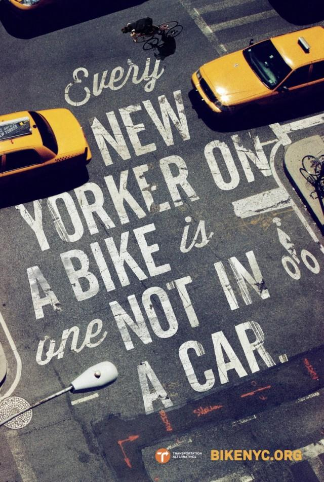 Bike Like a New Yorker | Feel Desain