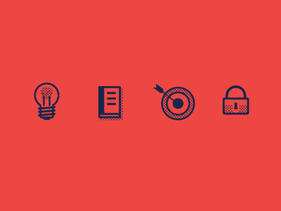Lecture Icons by Brandon Brown
