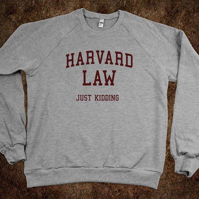Fancy - Harvard Law (Just Kidding) Sweater