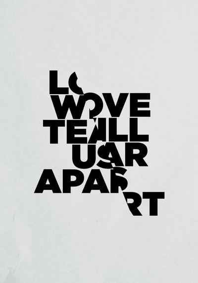 visualgraphic: Love Will Tear Us Apart | SerialThriller™