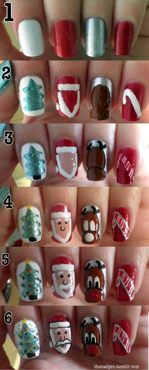 Diy christmas nail design do it yourself fashion tips diy fashion diy christmas nail design do it yourself fashion tips diy fashion projects solutioingenieria Gallery