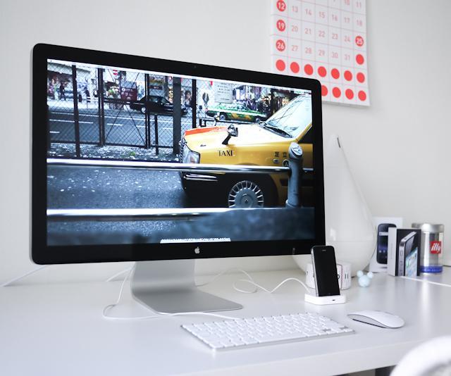 Fancy - Apple Thunderbolt Display