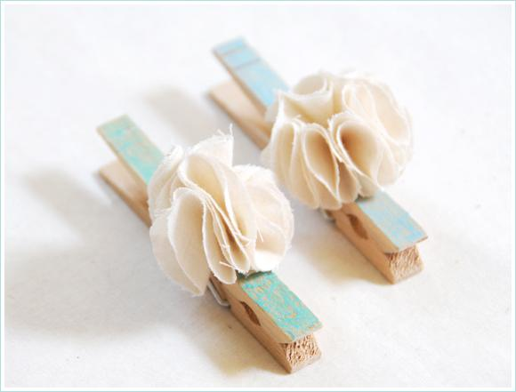 DIY: Fancy Clothespins - Home - Creature Comforts - daily inspiration, style, diy projects + freebies