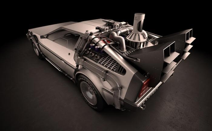 DeLorean DMC-12. http://djordjejovanovic.com/blog/ by Djordje Jovanovic at Coroflot
