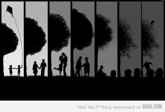 9GAG - The phases of Life