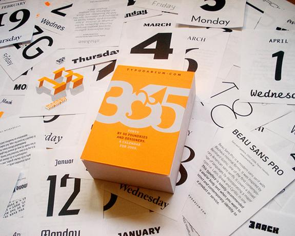 35 Creative Calendar Design Inspiration | The Design Work