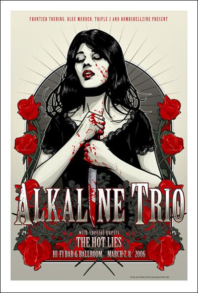 alkaline trio art - Google Images