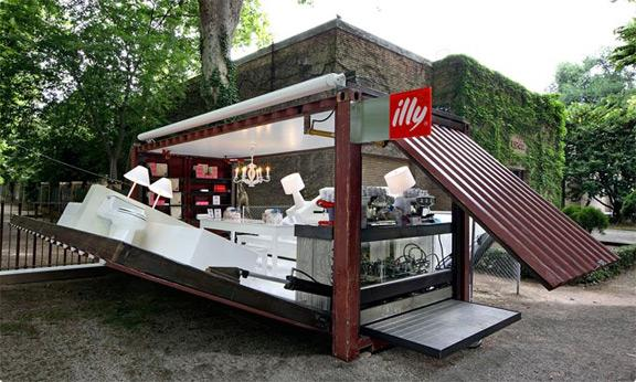 Fancy - ILLY Coffee Bar + Industrial Design