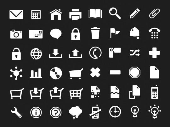 The Best Icon Sets for Minimal Style Web Design   Freebies