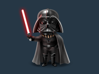 Hi, I'm Darth! by SoftFacade