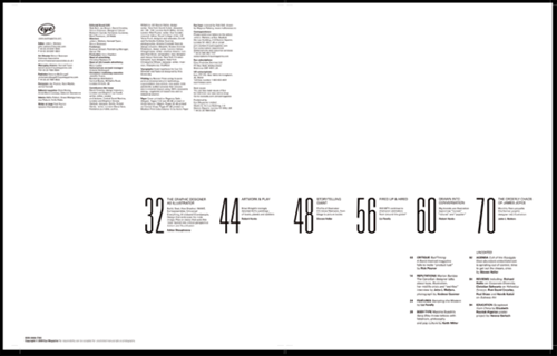 30 eye catching table of contents designs best design for Table of contents design