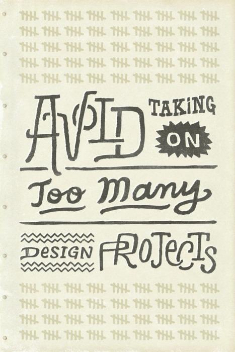 Typeverything.com - Avoid taking on too many... - Typeverything