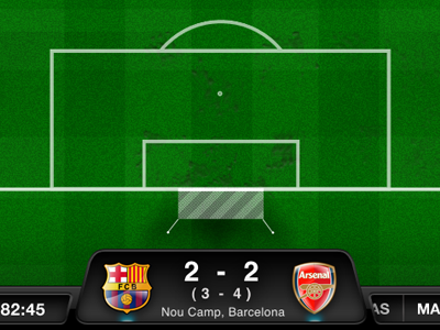 Football live iPad by Jeff King