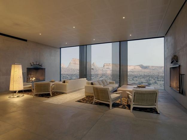 Amangiri Luxury Resort Hotel in Canyon Point, Utah | Let me be inspired - Interior Design, Interior Decorating Ideas, Architecture