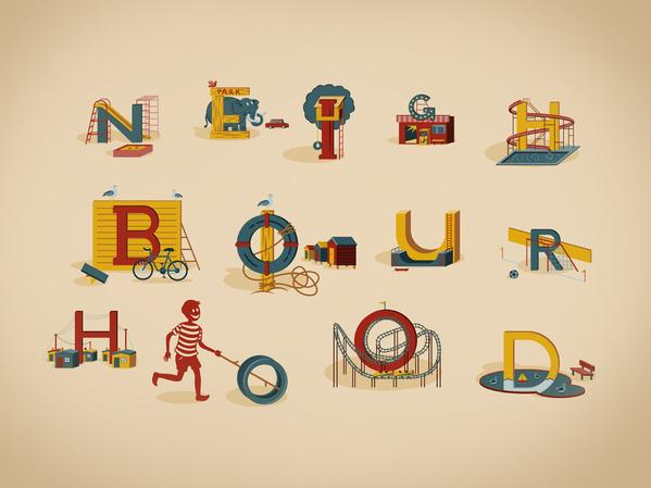Neighbourhood :: Typography Served