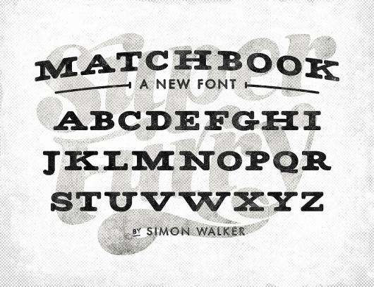 Designspiration — All sizes | Matchbook font | Flickr - Photo Sharing!