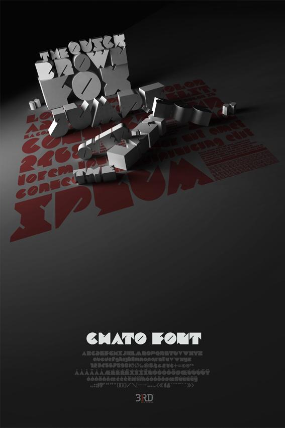Chato Font On Typography Served 252370 On Wookmark