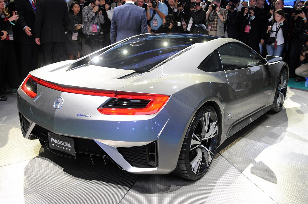 Acura NSX Concept: Detroit 2012 Photos Photo Gallery - Autoblog