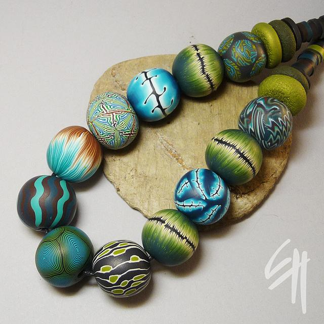 Bead Necklace   Flickr - Photo Sharing!