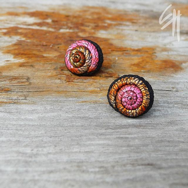 Spiral Earrings | Flickr - Photo Sharing!