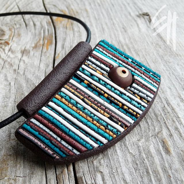 Striped Structure Pendant | Flickr - Photo Sharing!
