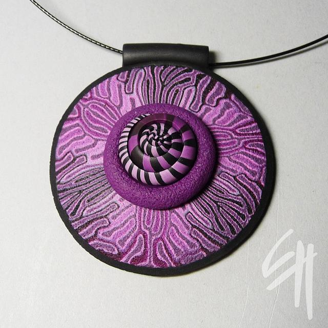 Violet Fossil Pendant | Flickr - Photo Sharing!