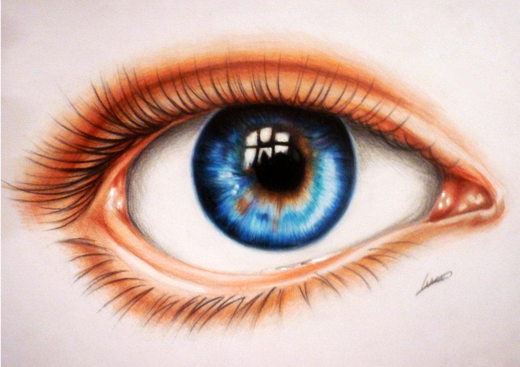 Как сделать человеческий цвет карандашами