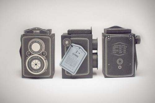 Pinhole Packaging Cameras - Linna Xu Designs a Film Box That Doubles as a Pinhole Camera (GALLERY)