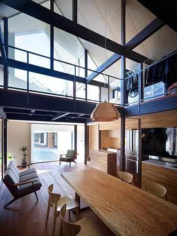 'A House made of Two' by naf architect & design @ Dailytonic