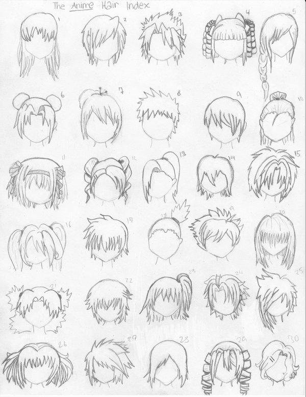 Résultats Google Recherche d'images correspondant à http://fc08.deviantart.net/fs23/i/2009/239/d/3/The_Anime_Hair_Index_by_xxangelsilencex.jpg