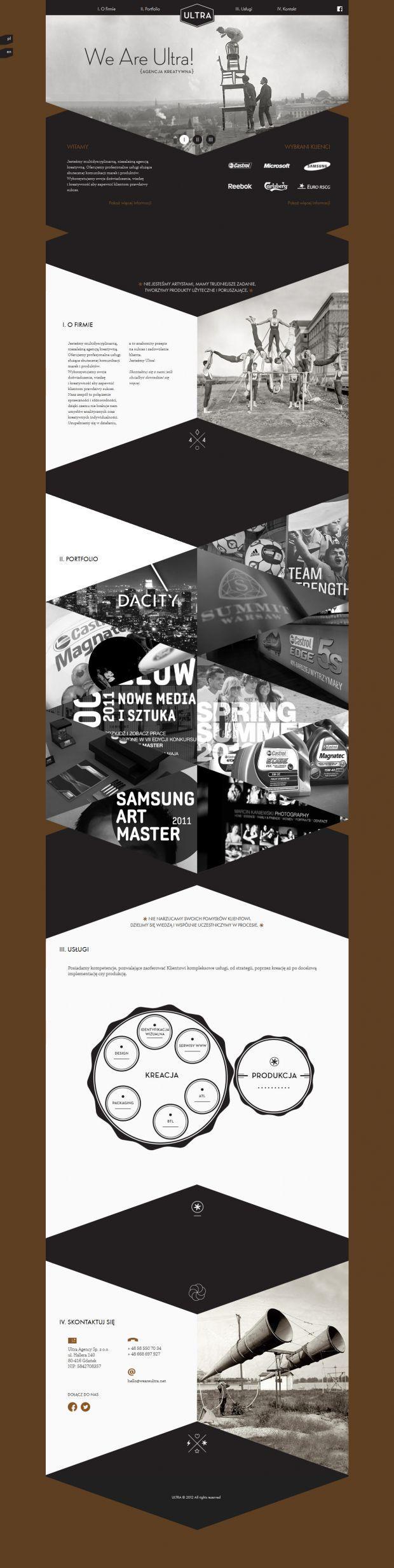 Ultra - We Are Ultra - Creative Agency - Webdesign inspiration www.niceoneilike.com