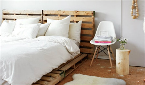 Pallet Bed With Storage Pallet Bed Frame Plans