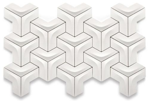 Geometric Pattern Tiles by Kutahya - wall puzzle