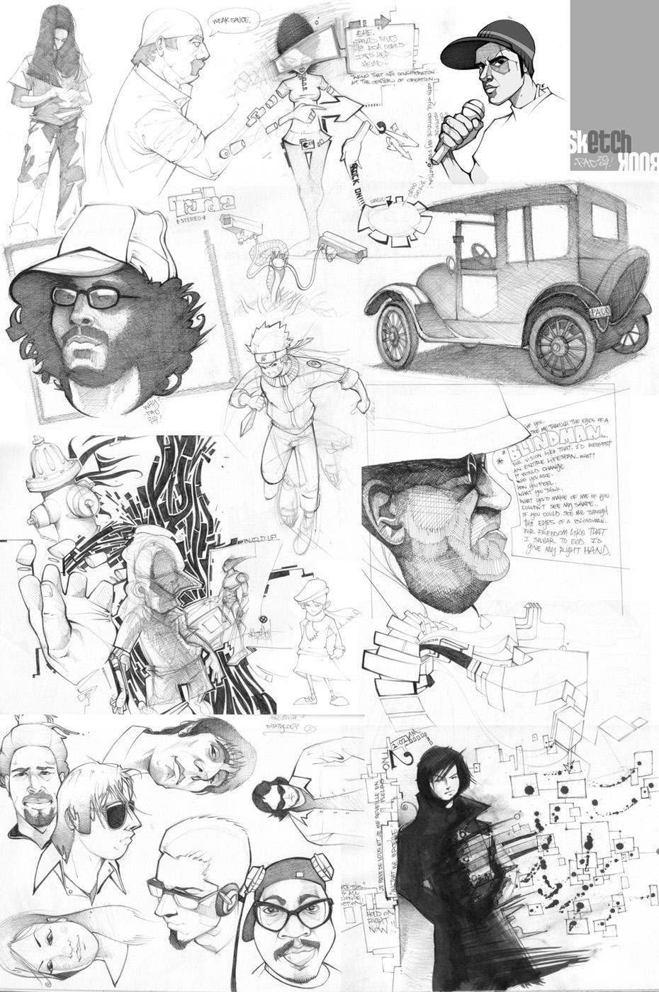 oO sketchBOOK Oo by `pacman23