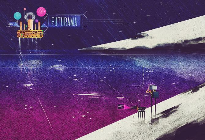 Beautifully Textured Artwork by Dan Matutina | inspirationfeed.com
