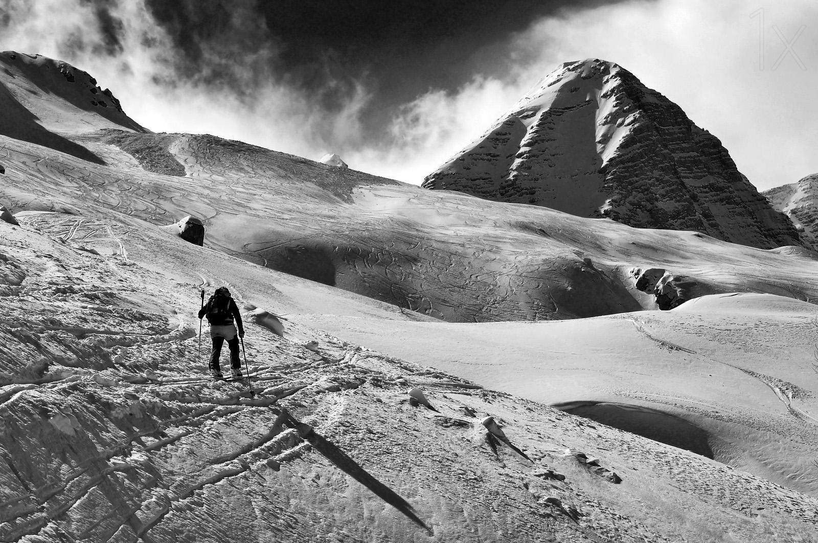 1X - Towards the summit by Andrea Gasparotto