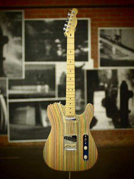 Fancy - HUF x Haroshi x DLX Guitar