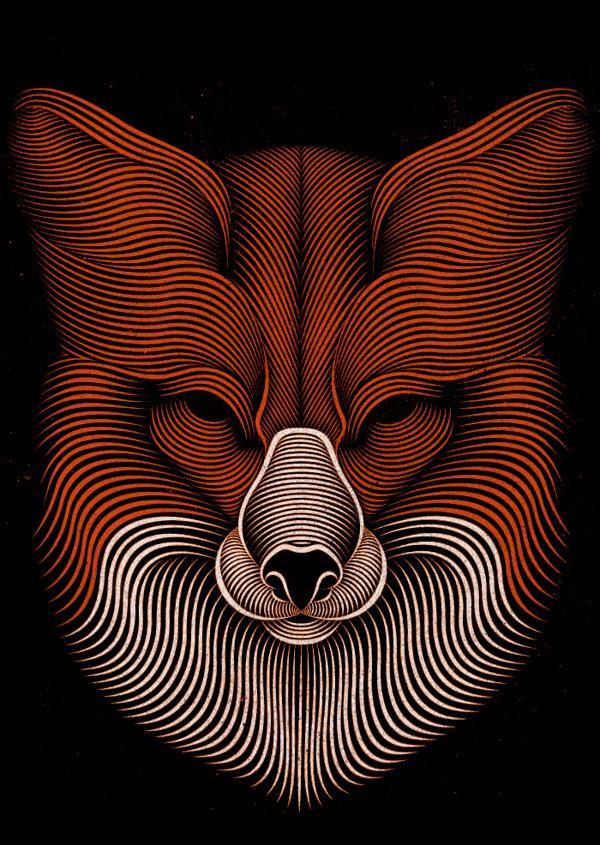 New Line-Art Illustrations by Patrick Seymour | Inspiration Grid | Design Inspiration