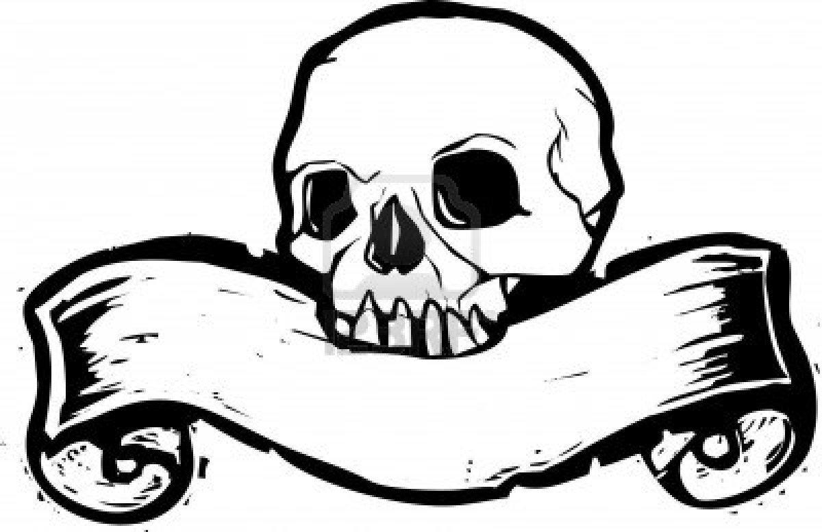 5986367-skull-pirata-con-banner-xilografia-sotto.jpg (1200×777)