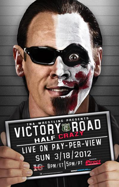 LordsofPain.net - Promotional Poster for TNA's Victory Road Pay-Per-View with Sting