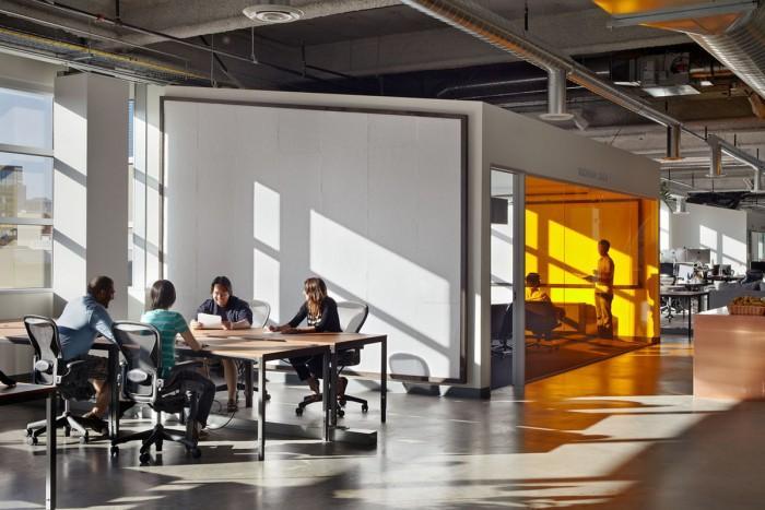Inside Dropboxs Urbanized San Francisco Offices Office