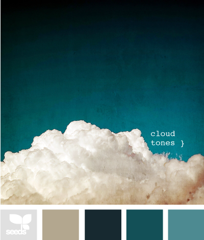 Design Seeds® | for all who ? color | cloud tones