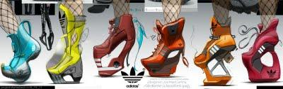 Glamolicious Grandstands _ADIDAS | Joe MacCarthy Concept Artist / Product Designer