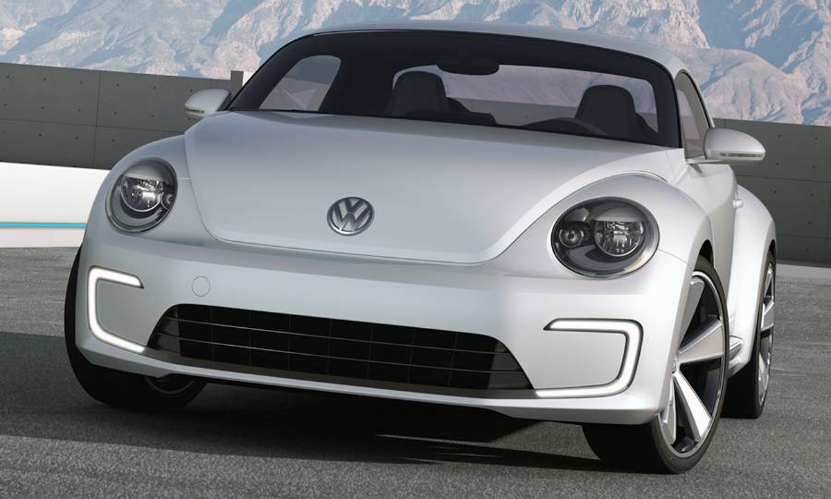 DesignApplause | Volkswagen e-bugster. 2012 detroit auto show.