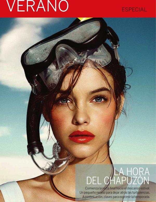 Barbara Palvin Takes A Sensual Plunge By Nico For El Pais Semanal June 9, 2013 - SensualityNews.com - Fashion Editorials, Art & Sensual Living