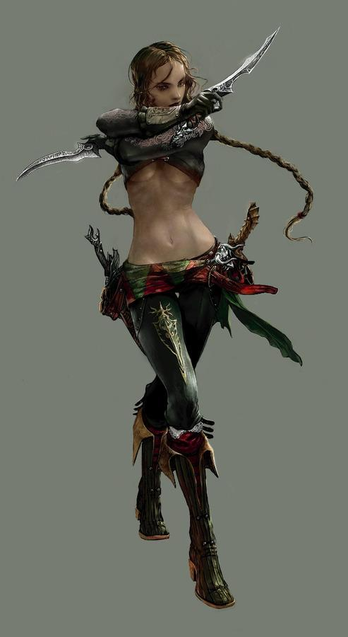 assassin 2 by rupid79 - jung myung lee - CGHUB
